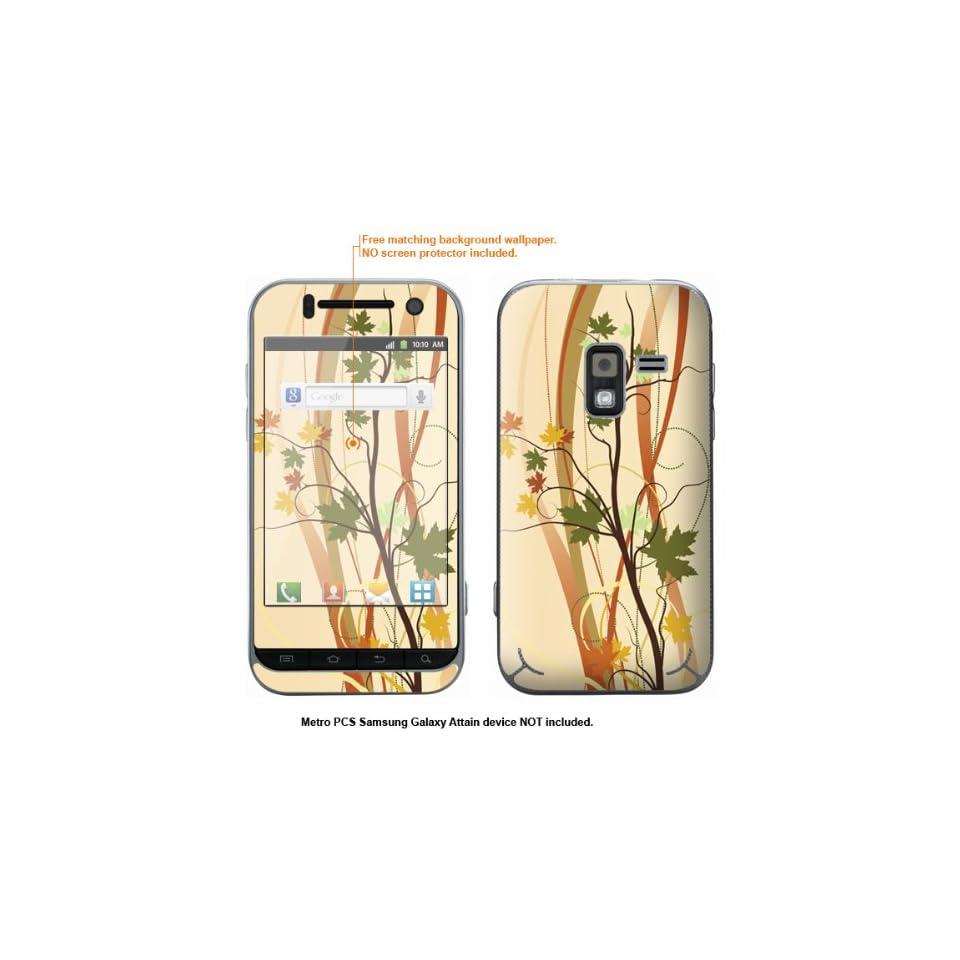 Protective Decal Skin Sticker for Metro PCS Samsung Galaxy Attain 4G case cover Attain 362