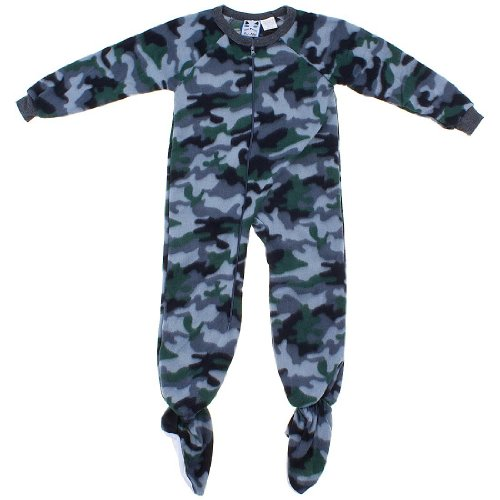 Kids Pajamas With Feet front-847156
