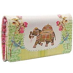 Papaya Art Fancy Elephant Cha-Ching Wallet