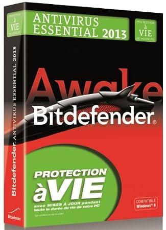 Bitdefender antivirus essential 2013 - à vie / 1 poste