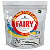Fairy Platinum All in One Dishwasher Tablets Lemon - Trial Size Pack (3)