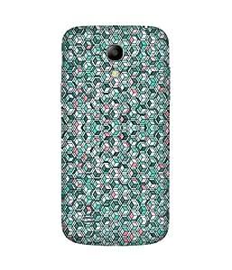 Pentagon Pattern Samsung Galaxy S4 Mini Case