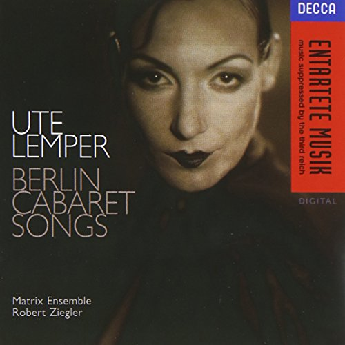 Ute Lemper - Berlin Cabaret Songs (Friedrich Hollaender compare prices)