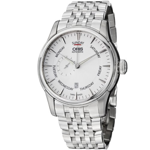 Oris Artelier Small Second Pointer Day Men's Stainless Steel Automatic Watch 74576664051MB