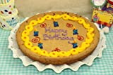 Zeldas Happy Birthday Candles 12&quot; Chocolate Chip Cookie Cake
