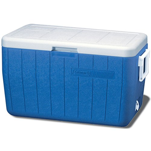 Coleman 48 Quart Performance Cooler Holds 63 Cans, Blue (52 Quart Cooler compare prices)