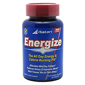 Isatori Energize All Day Energy Pill Tablets 84-count Bottle from Isatori
