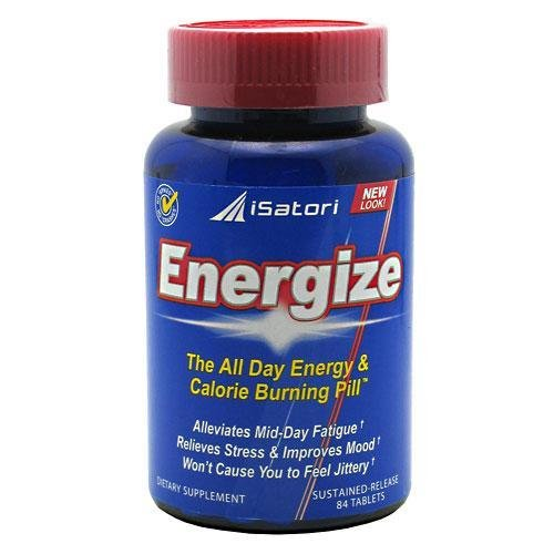 iSatori Energize All Day Energy Pill, Tablets, 84Count Bottle Picture