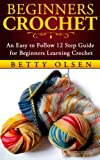 Beginners Crochet: An Easy to Follow 12 Step Guide for Beginners Learning Crochet (Patterns, Stitches)