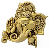 Redbag Lord Blessing Ganesha Brass Wall Plaque