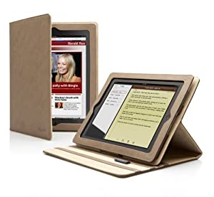 Cygnett Soft-Touch Folio with Multi-View Stand for iPad 2 -CY0296CILAV