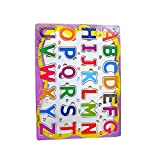 Dcs Multicolour Wooden Tray Puzzle - Alphabets (abcd) - B00V62UALU