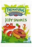 The Natural Confectionery Company Snakes Bag 200 g (Pack of 6)