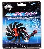 Evercool 80mm Drop In VGA Card Replacement Fan 3 screw