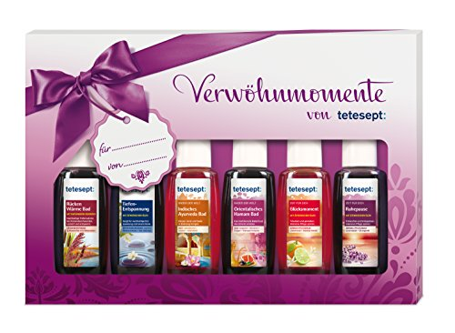 Shopping mit http://koerperpflege.kalimno.de - Tetesept Bäder Geschenkset Verwöhn