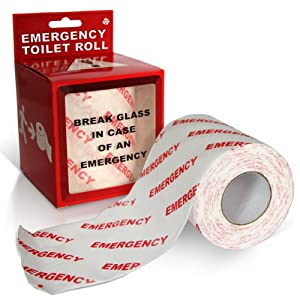 Emergency Toilet Paper Roll in Gift Box, Fun Novelty Joke Item. Precio: $12.98