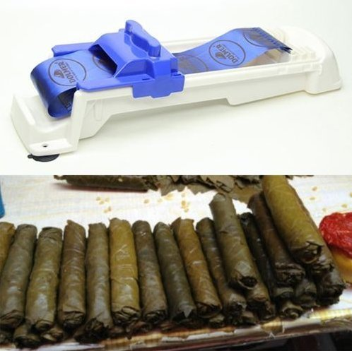 Stuffed Grape Leaves Cabbage Leaves Rolling Machine Turkish Sarma Dolma Sushi by Abcstore99 (Machine Grape compare prices)