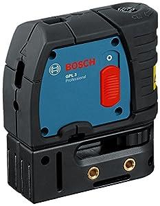 Bosch Professional GPL 3, 30 m Arbeitsbereich, ± 0,3 mm/m Nivelliergenauigkeit, Schutztasche, Multifunktionshalterung, 3 x 1,5VLR6Batterien (AA)  BaumarktÜberprüfung und weitere Informationen
