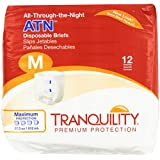 Tranquility ATN (All-through-the-Night) Fitted Briefs Size Medium Pk/12