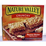 Nature Valley Crunchy Granola with Peanut Butter Bars (Package of 5 Boxes) Reviews