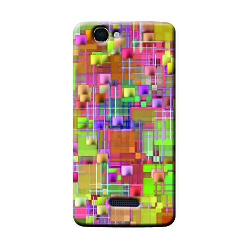 Garmor Abstract Design Plastic Backcover for Micromax A120- (Txt 8)
