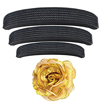 Majik-Rose-Clip-with-Hair-Puff-(Set-Of-4-pcs)-Hair-Accessories