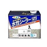 アサヒペン 水性シーラー ライトレモン 7L