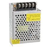 SODIAL(R)LEDストリップライト用スイッチ電源?ドライバ60W DC 12V 5A