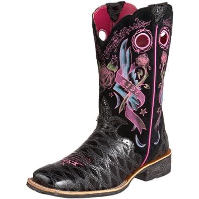 ariat s rodeobaby rocker boot