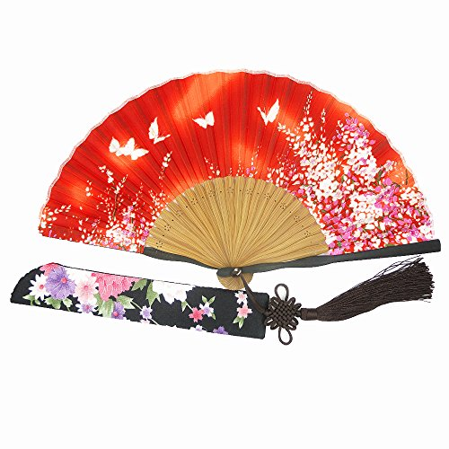 Wise Bird Charming Elegant Modern Woman Handmade Bamboo Silk 8