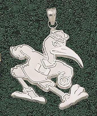 Miami Hurricanes New Giant 1 1 2 W x 1 1 2 H Fighting Ibis Pendant - 14KT Gold... by Logo Art
