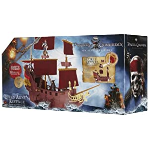 Pirates Of The Caribbean Queen Anne's Revenge Hero Ship Play Set