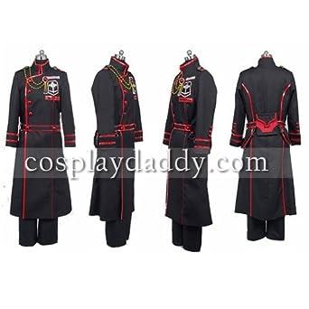 D Gray-man Kanda Yu Cosplay Costume