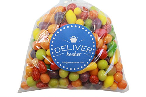 Deliver Kosher Bulk Candy - Swiss Petite Fruits - 2lb Bag (Small Gumballs For Candy Machine compare prices)
