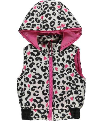 Pink Platinum Girls 7-16 Heart Cheetah Print