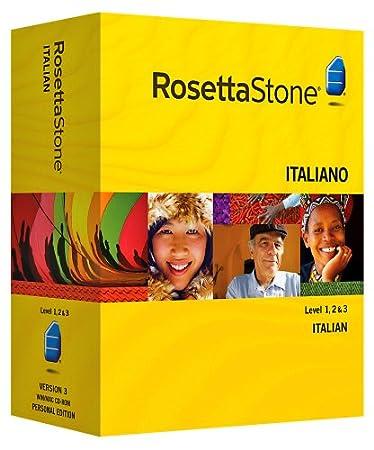 Rosetta Stone V3: Italian Level 1-3 Set with Audio Companion [OLD VERSION]