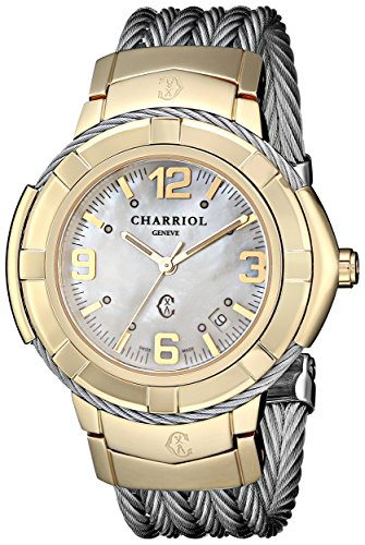 Charriol Celtic Large, 38mm Men's Watch CE438Y1.650.002