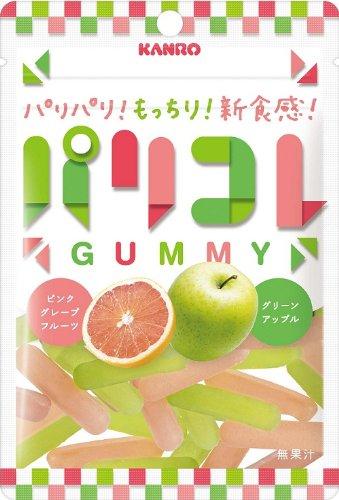 カンロ パリコレグリーンアップル&ピンクグレープフルーツ 40g×6袋
