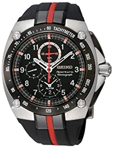 Seiko Men's SNAE07 Sportura Chronograph Watch