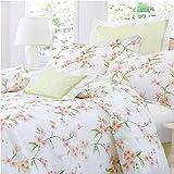 Charisma Cherry Blossom White Multi Queen Duvet Cover