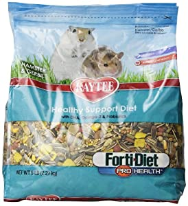 Kaytee Forti Diet Pro Health Food for Hamsters/Gerbils, 5-Pound