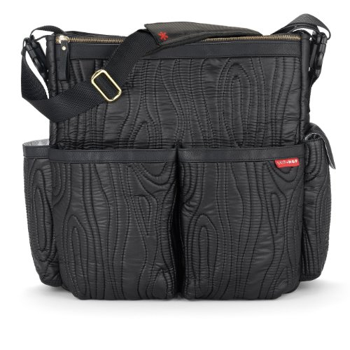 skip hop duo deluxe diaper bag limited edition edgewood designer nappy bags. Black Bedroom Furniture Sets. Home Design Ideas