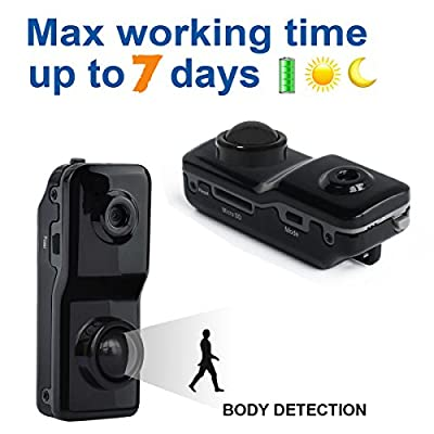 Conbrov DV89 Mini Nanny Cam Motion Activated Detection Recorder Tiny Spy Wireless Hidden Security Camera for Personal Surveillance by Conbrov Group