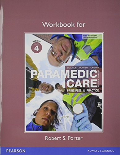Paramedic Care Workbook Package: Volumes 4-7