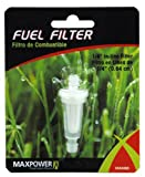 Maxpower 334283 1/4-Inch Fuel Line Filter