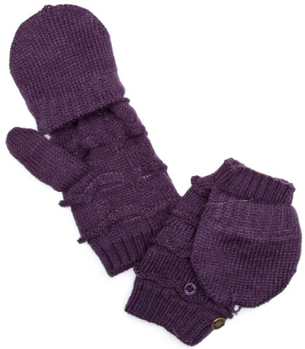 Bench Fragrance Womens Gloves Dark Purple