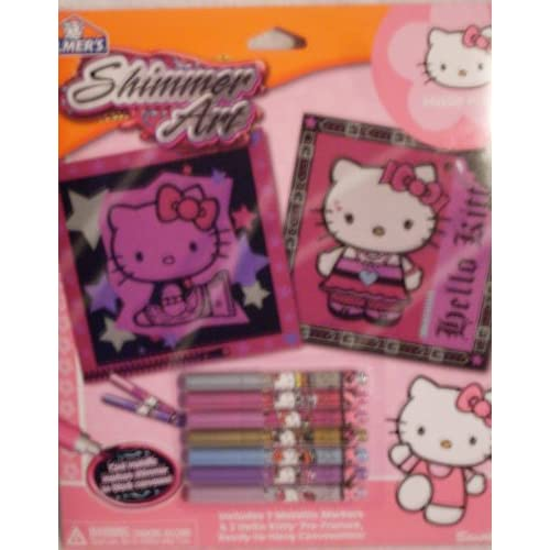 Sanrio Hello Kitty Shimmer Art