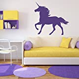 Licorne-Sticker-mural-Muraux-Dcoration-Murale-Stickers-Wall-Decal-Autocollants-Salon-Chambre-denfants-Nursery-Made-in-Germany