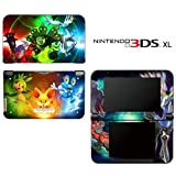 Pokemon X Y Special Edition Decorative Video Game Decal Cover Skin Protector for Nintendo 3DS XL