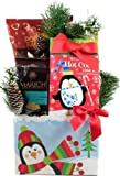 Frost Bites, Holiday Gift Basket For Christmas (Small)
